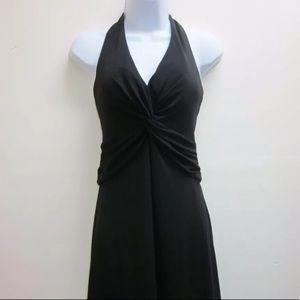 White House Black Market Halter Midi Dress Lined 6